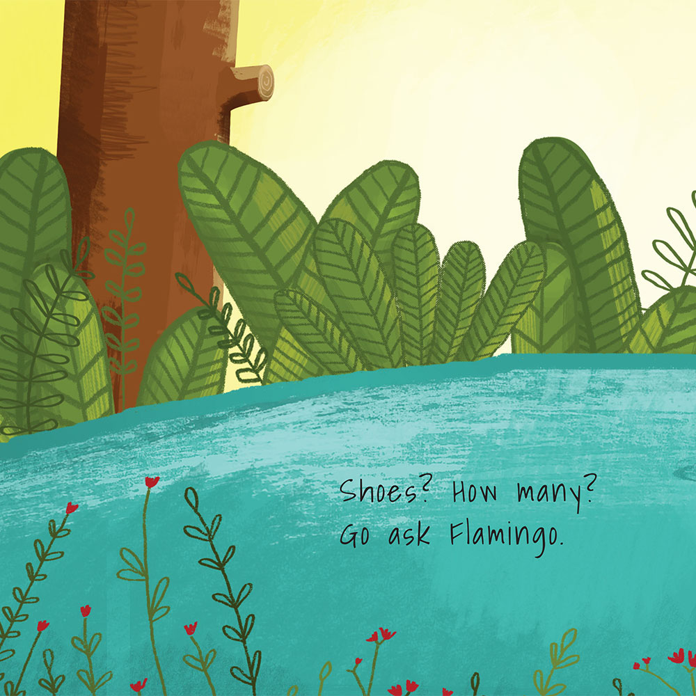 Shongololo's Shoes - Free Picture Book - page 10