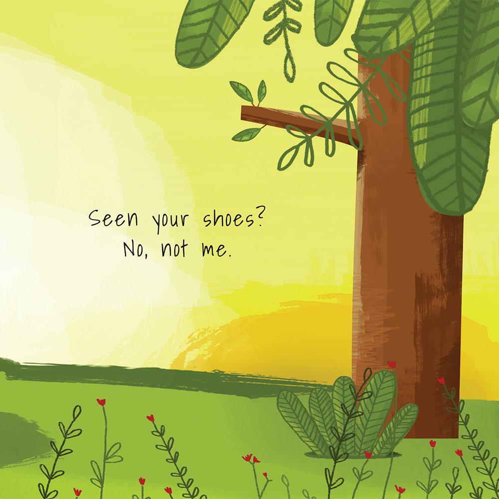 Shongololo's Shoes - Free Picture Book - page 13