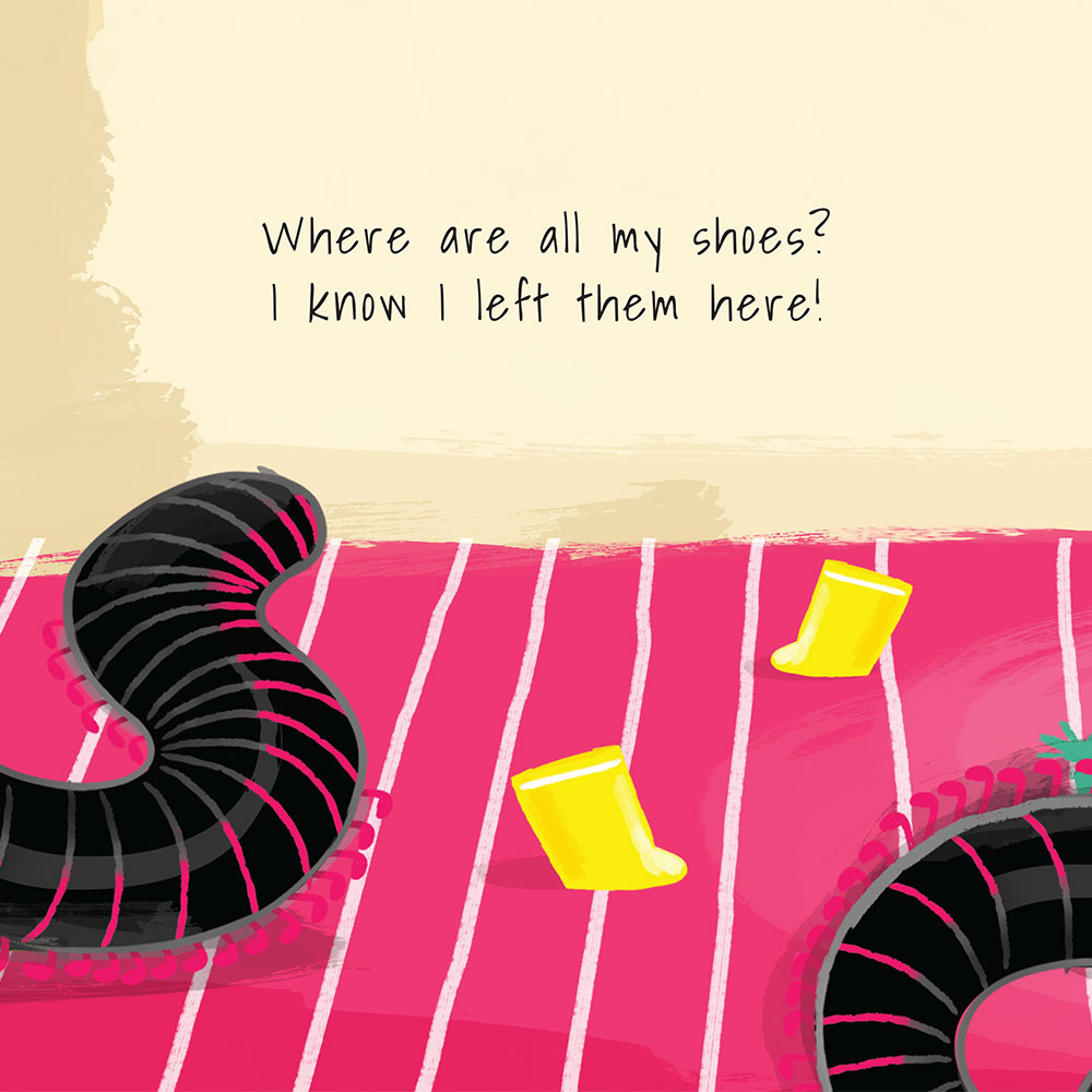 Shongololo's Shoes - Free Picture Book - page 3
