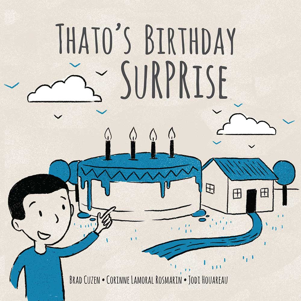 Thato's Birthday Surprise free kids story cover illustration