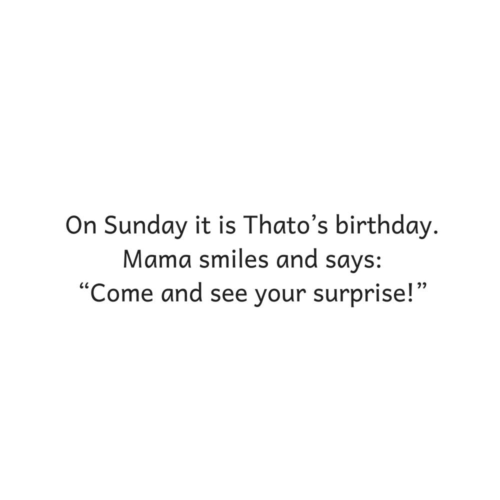 Thato's Birthday Surprise free kids story page 17