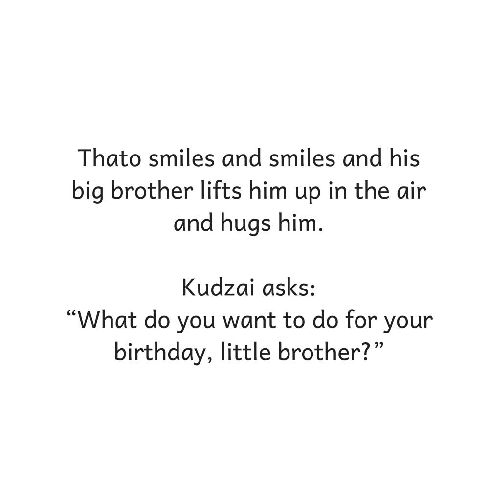 Thato's Birthday Surprise free kids story page 21