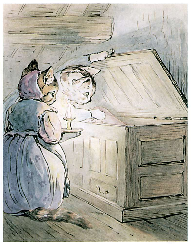 Bedtime stories Samuel Whiskers by Beatrix Potter page 10