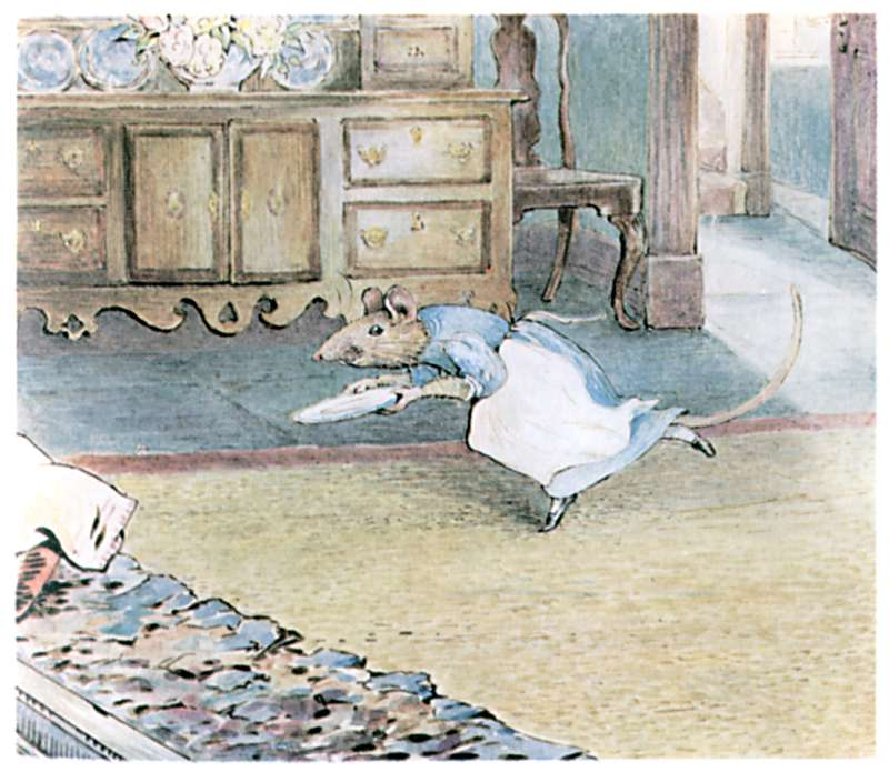Bedtime stories Samuel Whiskers by Beatrix Potter page 13