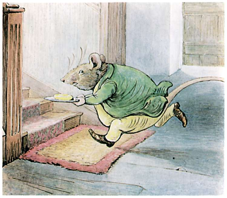 Bedtime stories Samuel Whiskers by Beatrix Potter page 16