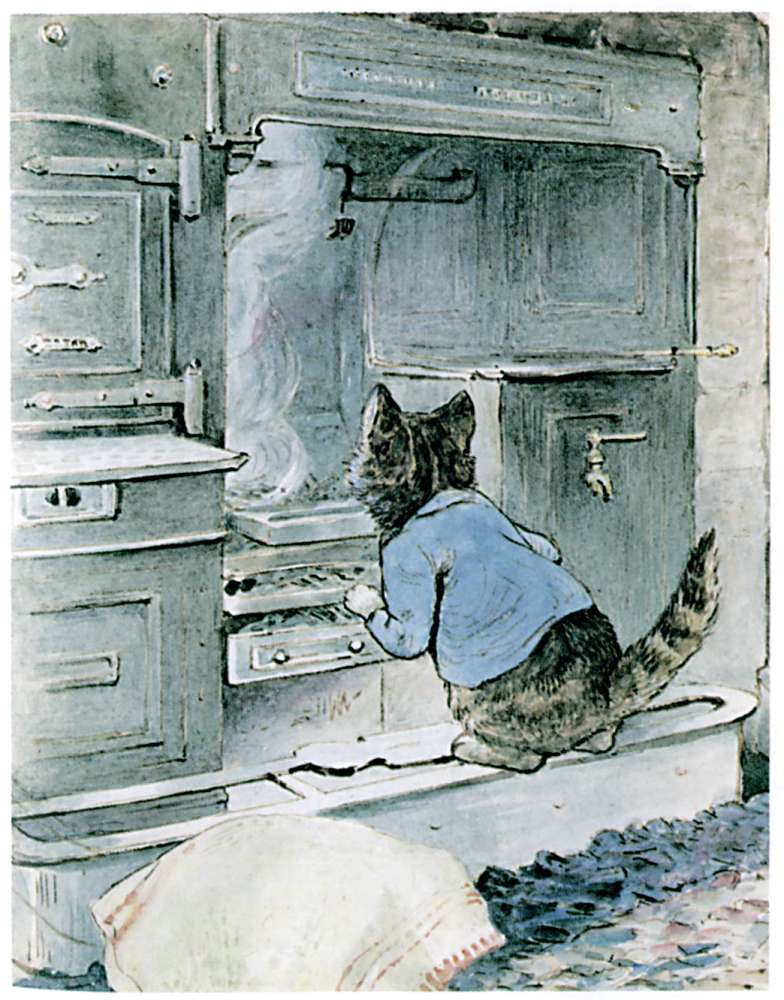 Bedtime stories Samuel Whiskers by Beatrix Potter page 19