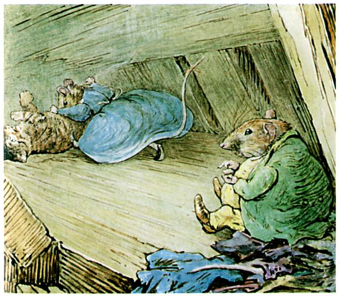 Bedtime stories Samuel Whiskers by Beatrix Potter page 31