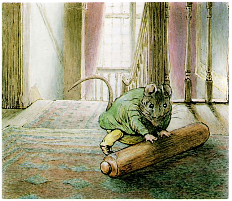 Bedtime stories Samuel Whiskers by Beatrix Potter page 34