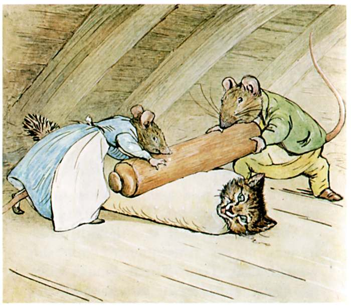 Bedtime stories Samuel Whiskers by Beatrix Potter page 40