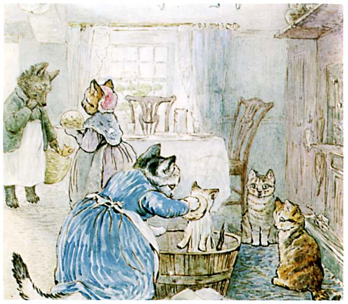 Bedtime stories Samuel Whiskers by Beatrix Potter page 45