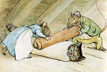 Bedtime stories by Beatrix Potter - Samuel Whiskers - header illustration