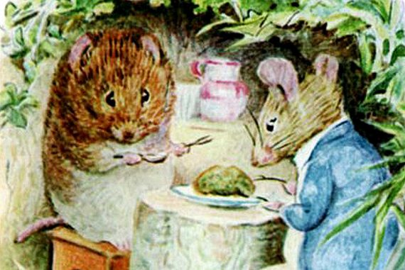 Bedtime stories - Johnny Townmouse by Beatrix Potter - header