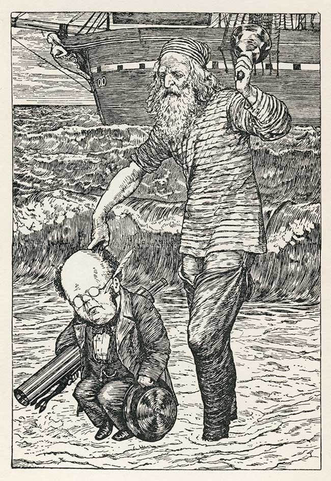 The Hunting of the Snark by Lewis Carroll - Henry Holiday illustration 1