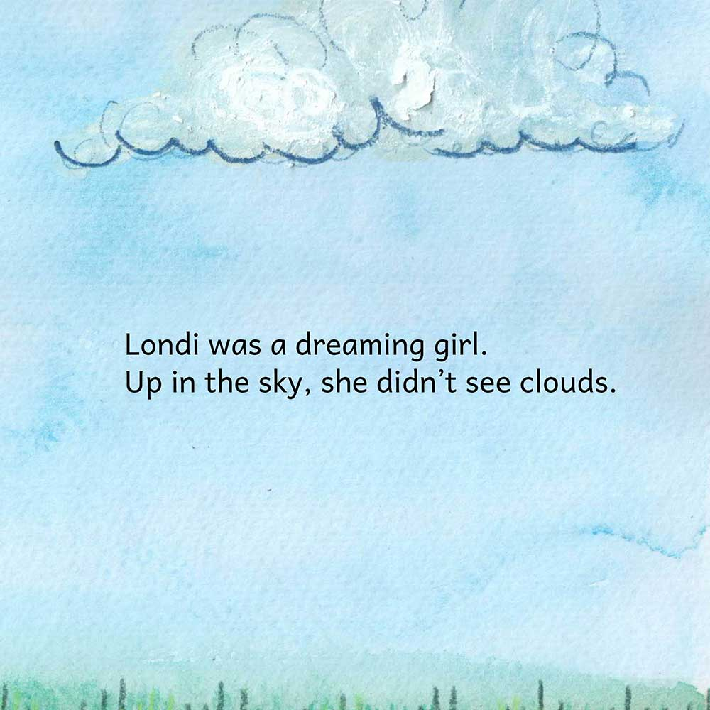 Londi The Dreaming Girl free picture book page 2