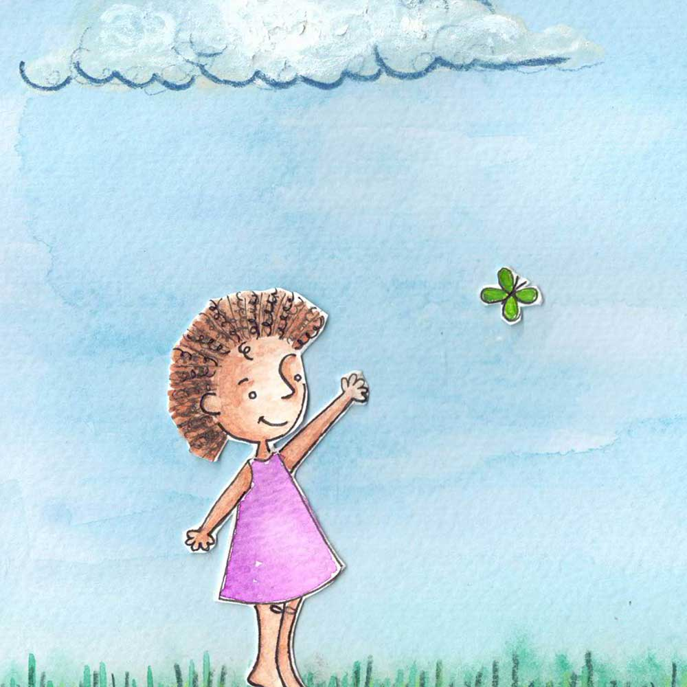 Londi The Dreaming Girl free picture book page 3