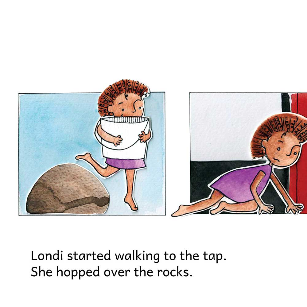 Londi The Dreaming Girl free picture book page 9