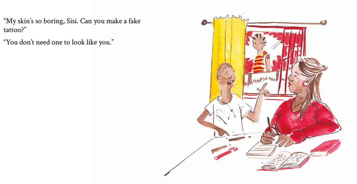 Rafiki's Style free picture book page 9
