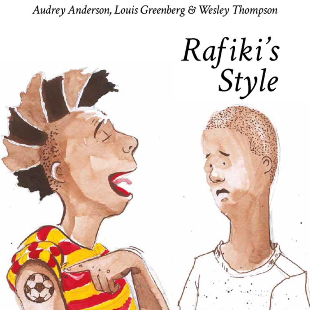 Rafiki's Style free picture book cover