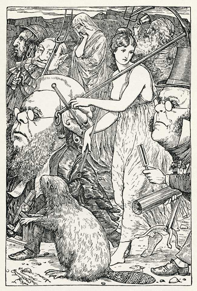 The Hunting of the Snark by Lewis Carroll - Henry Holiday illustration 6