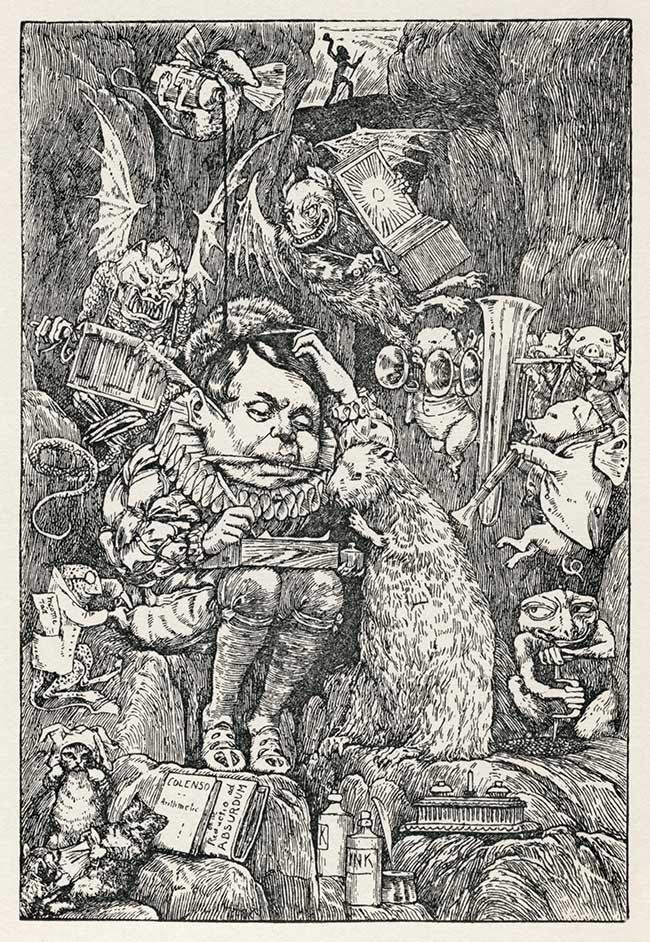 The Hunting of the Snark by Lewis Carroll - Henry Holiday illustration 7