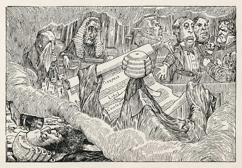 The Hunting of the Snark by Lewis Carroll - Henry Holiday illustration 8