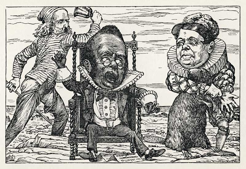The Hunting of the Snark by Lewis Carroll - Henry Holiday illustration 9