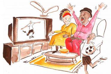 Rafiki's Style bedtime story header illustration