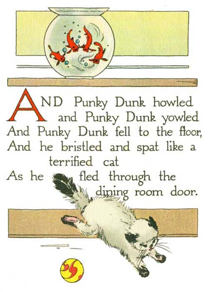 Poems for kids - Punky Dunk and the Goldfish - Page 9 illustration