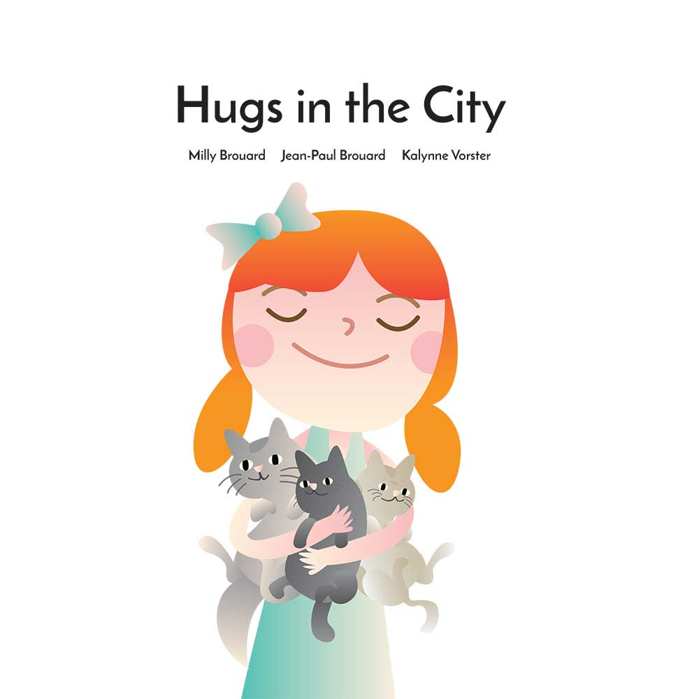 Hugs in the City bedtime story - page 1 illustration