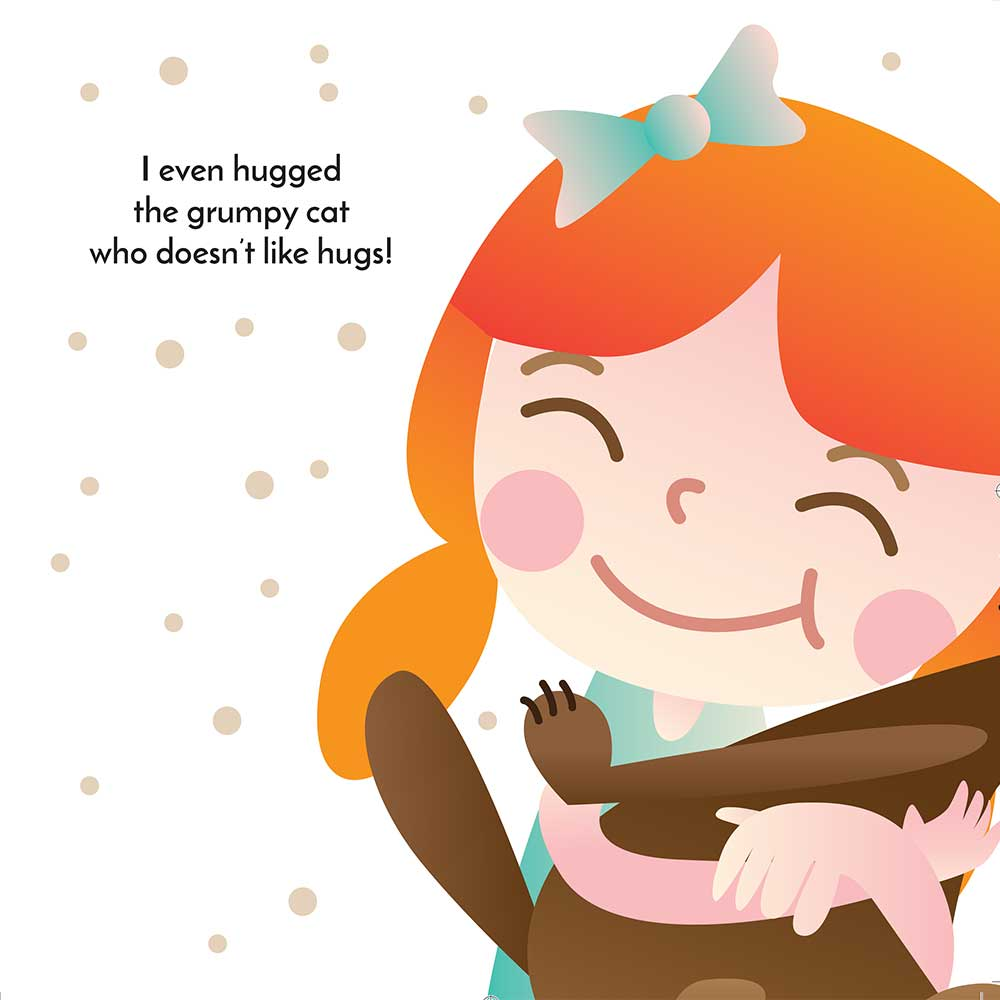 Hugs in the City bedtime story - page 12 illustration