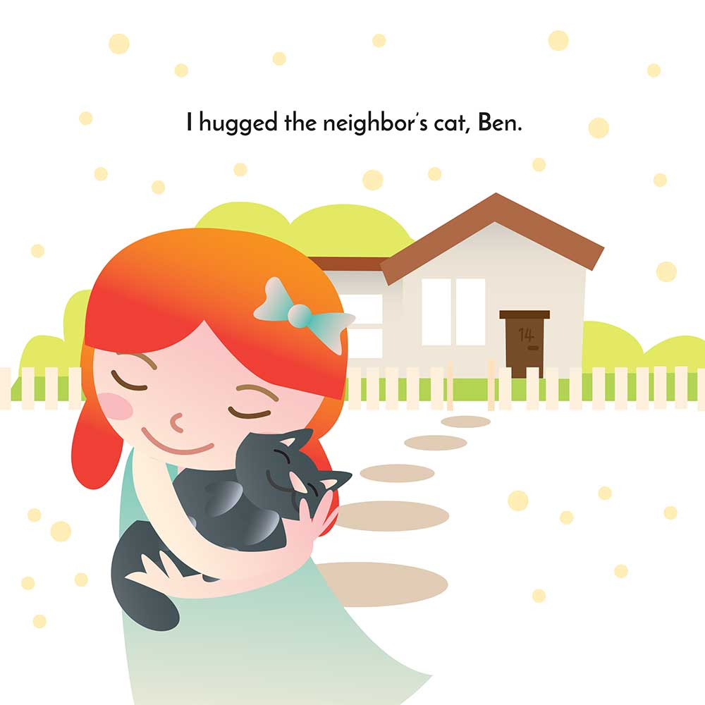 Hugs in the City bedtime story - page 4 illustration