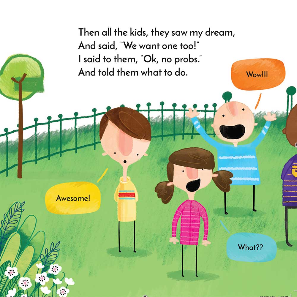 Free Kids Short Story My Dream in the Drawer page 16