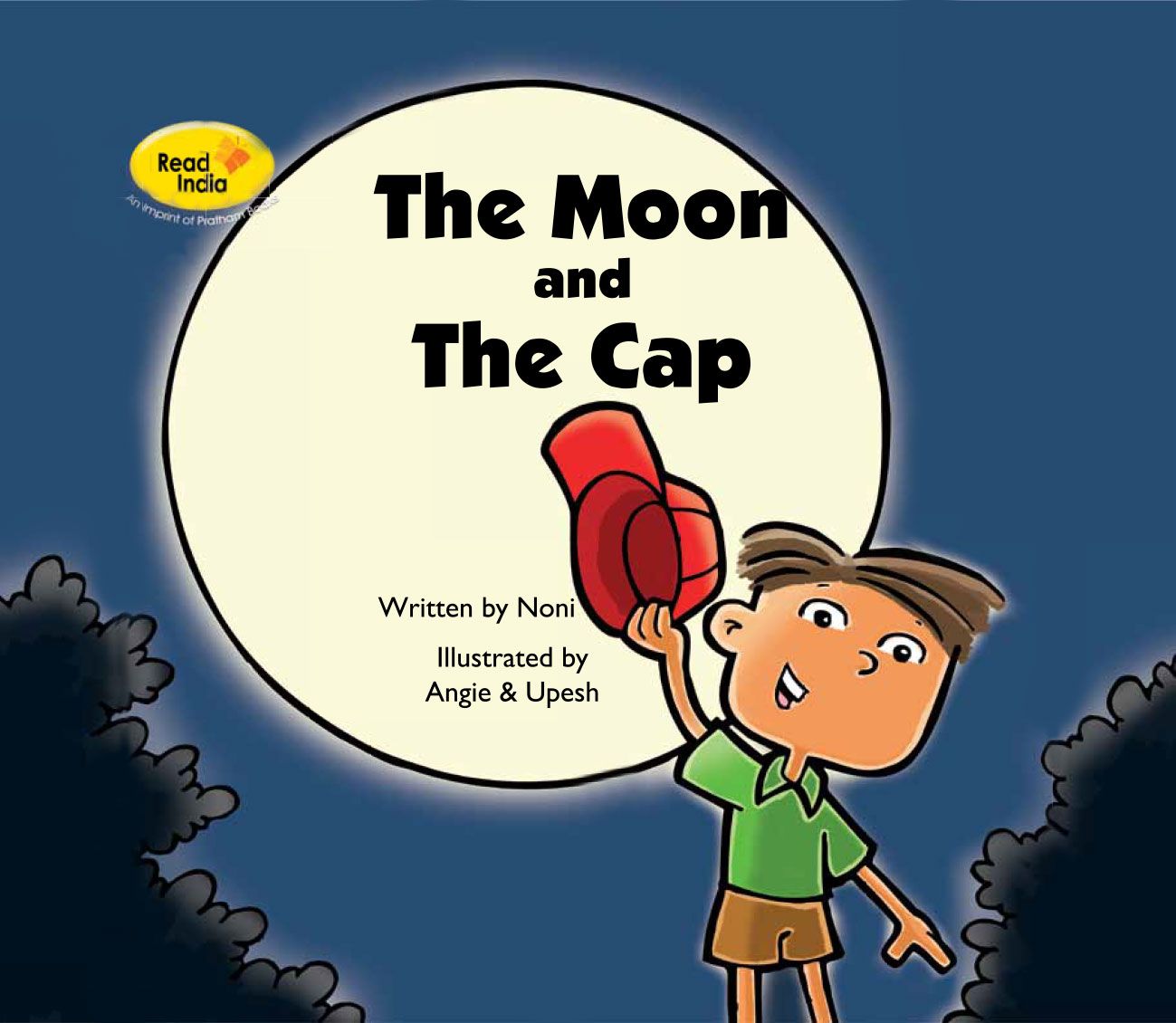 Free bedtime story The Moon and the Cap - cover page