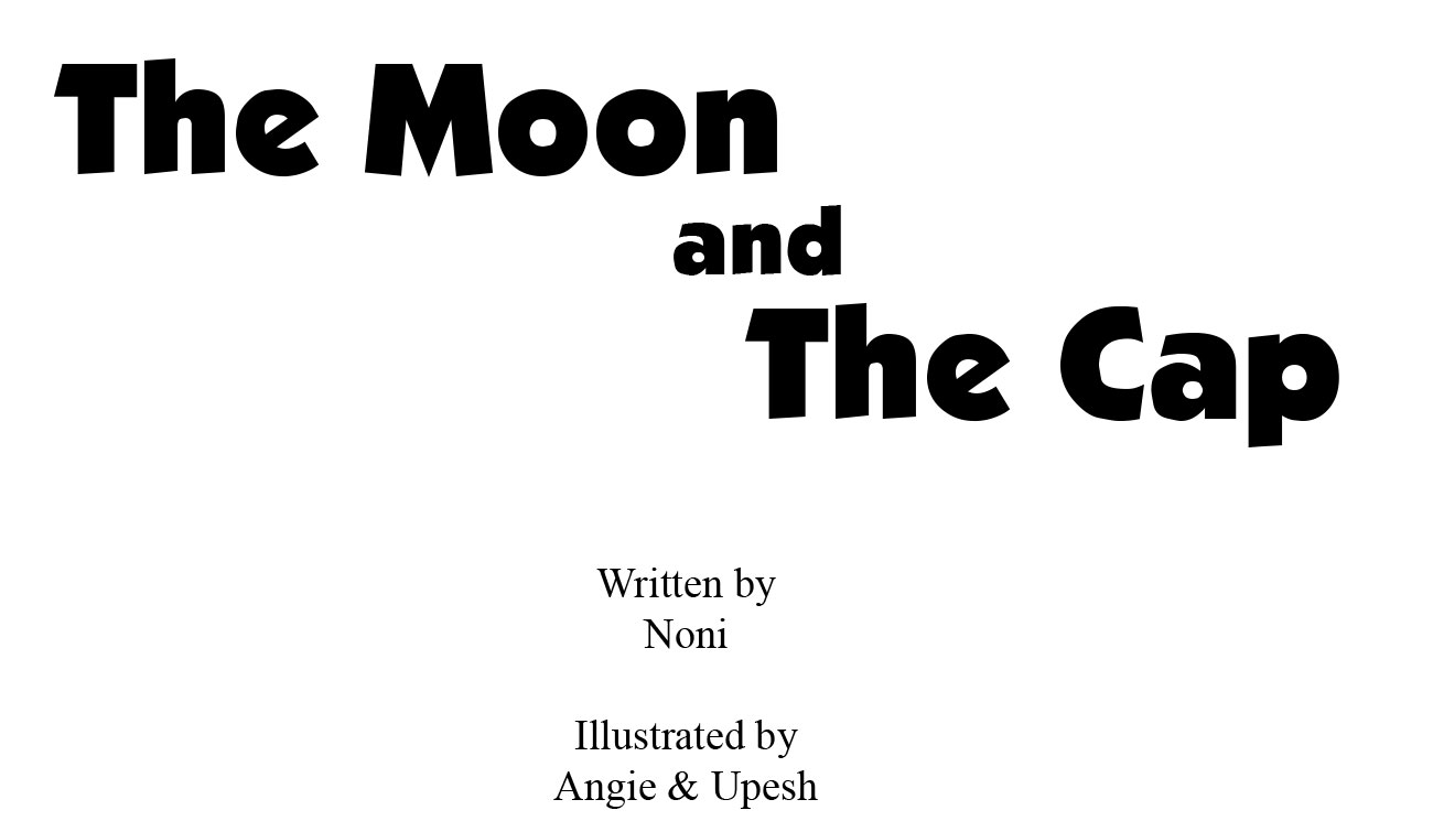 Free bedtime story The Moon and the Cap - page 1