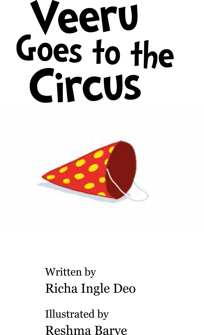 Bedtime stories 'Veeru Goes to the Circus' free picture book page 1