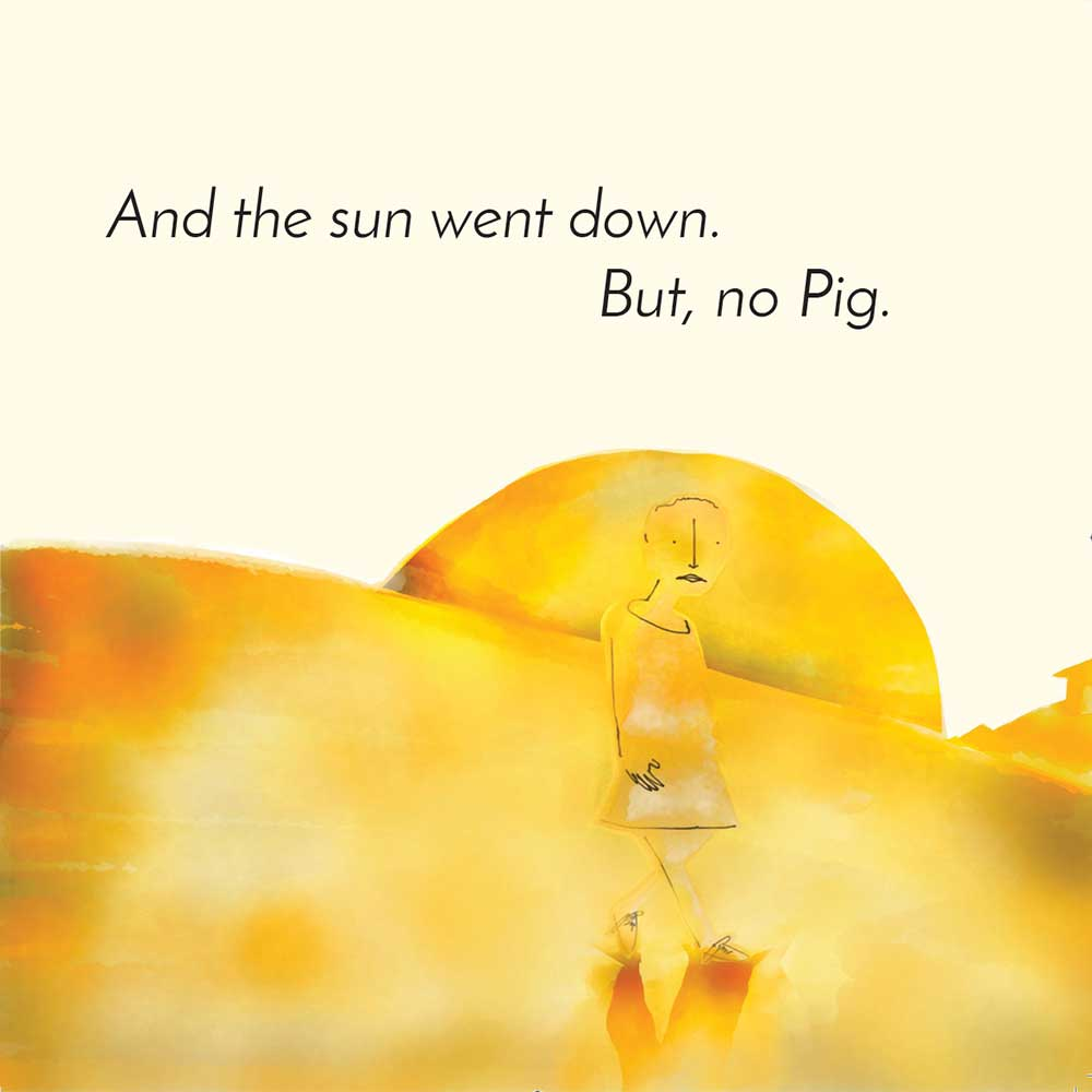 Free children's picture book Clever Pig - page 14
