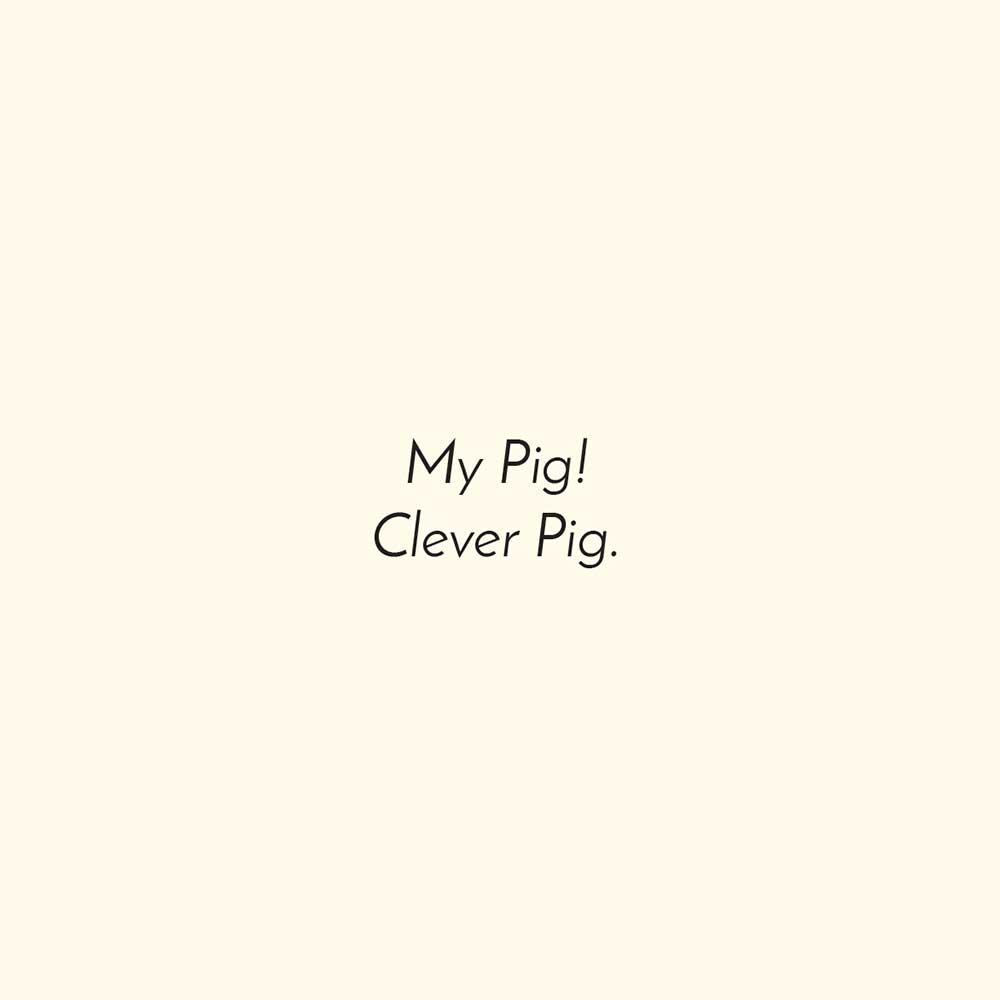 Free children's picture book Clever Pig - page 17