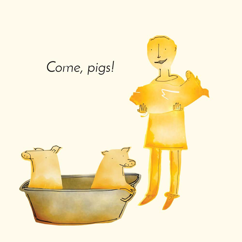 Free children's picture book Clever Pig - page 21