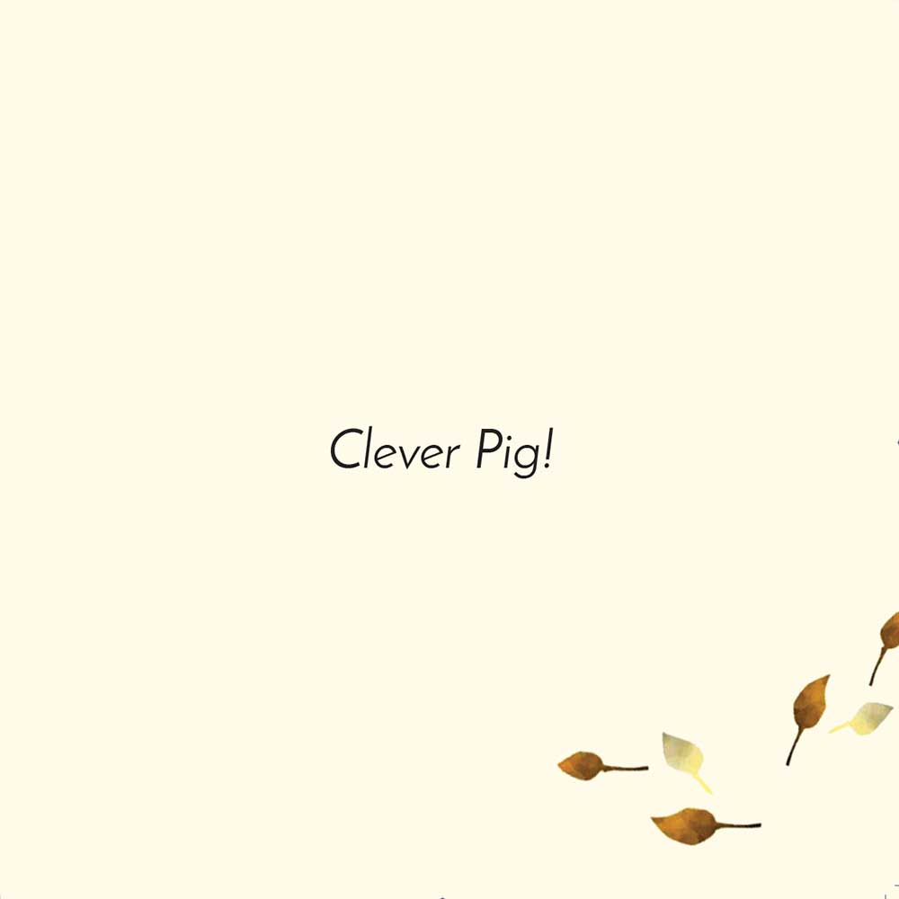 Free children's picture book Clever Pig - page 8