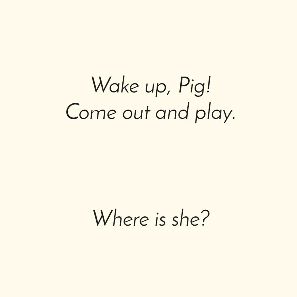 Free children's picture book Clever Pig - page 9