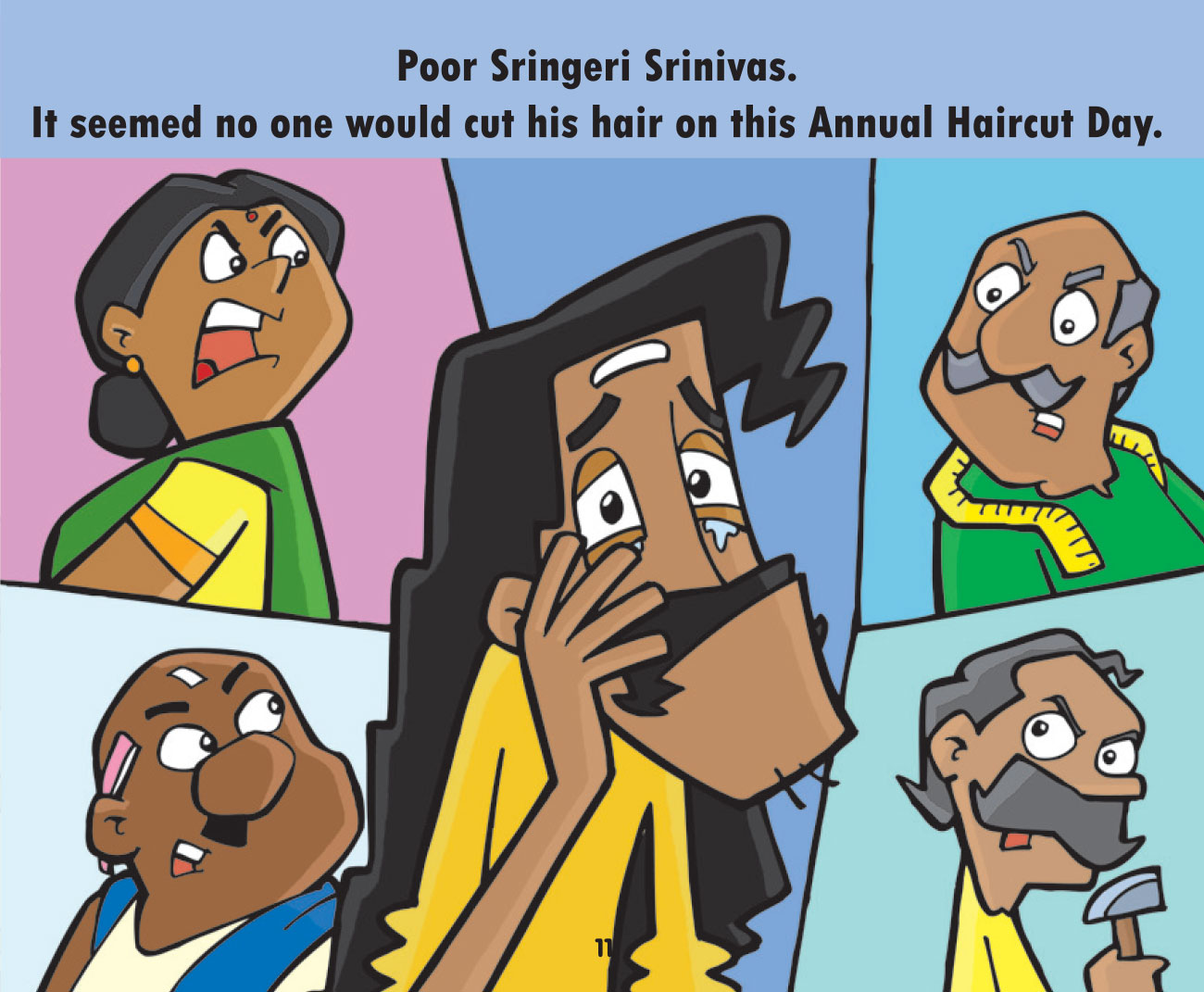 Free short story for kids - Annual Haircut Day - page 10