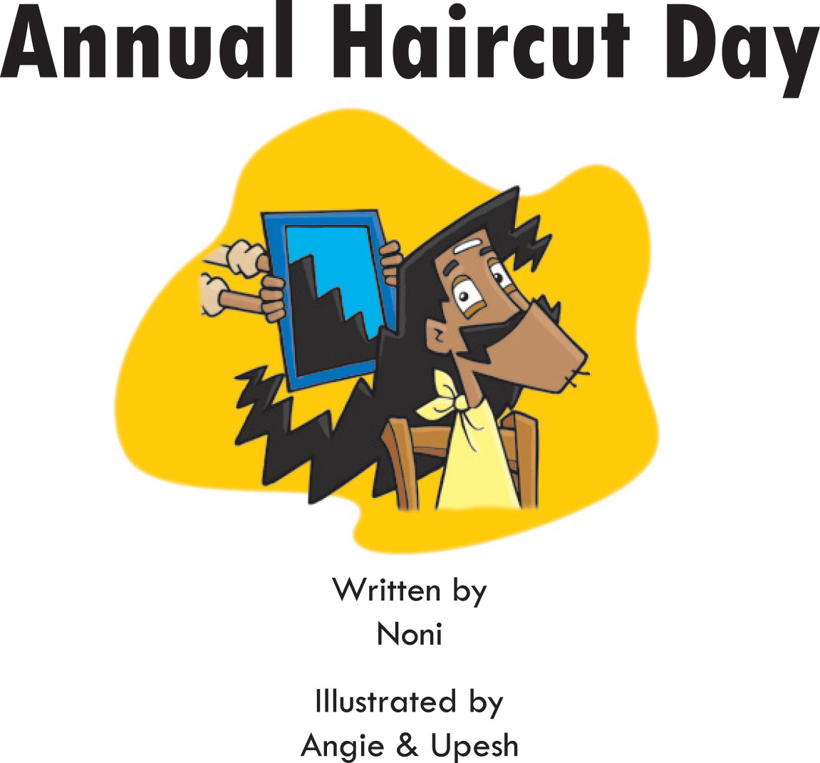 Free short story for kids - Annual Haircut Day - page 1