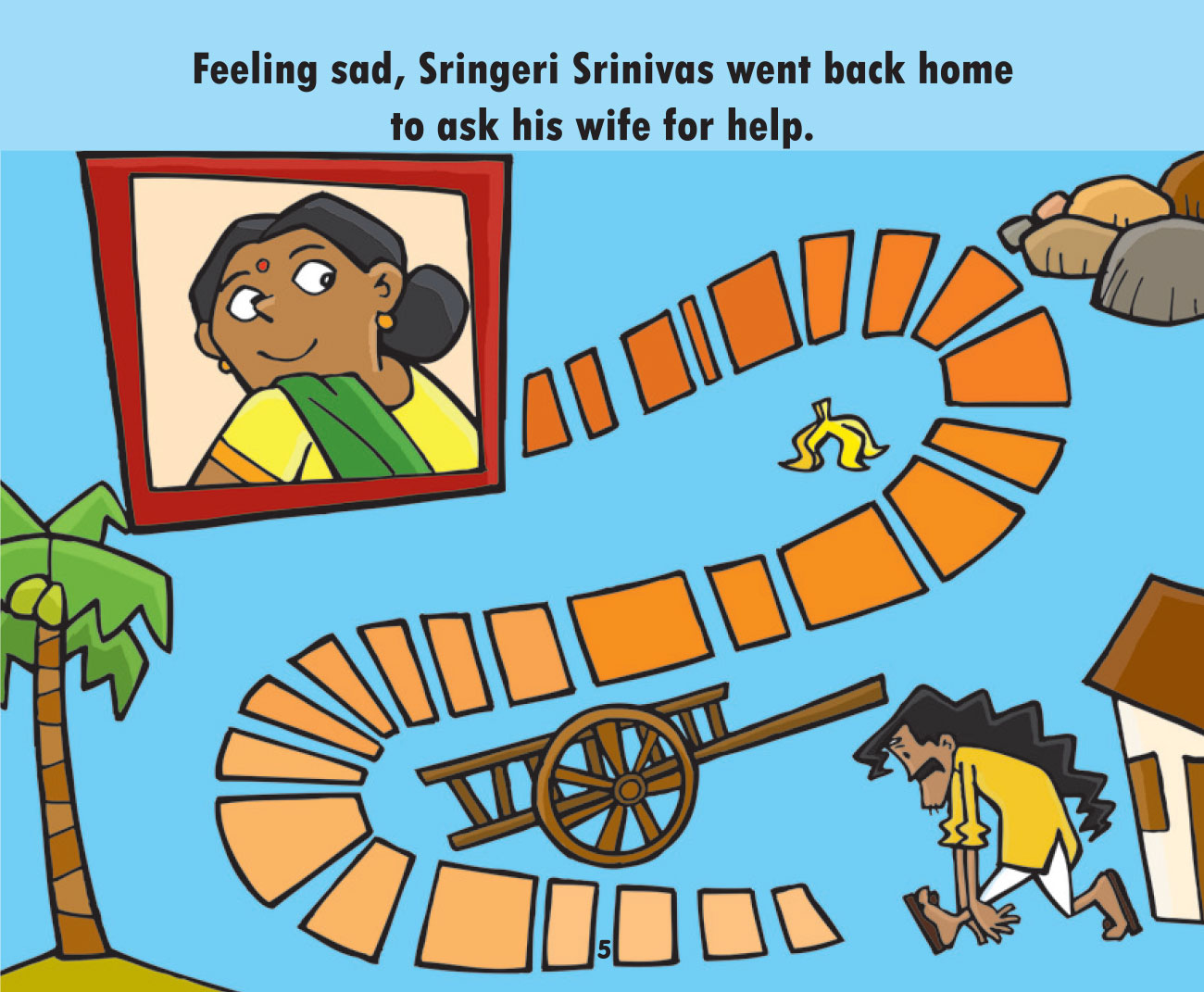 Free short story for kids - Annual Haircut Day - page 4