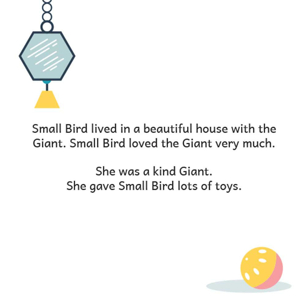 Bedtime stories - Small Bird's Big Adventure - page 4