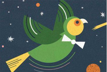 Header illustration for free kids bedtime story Small Bird's Big Adventure