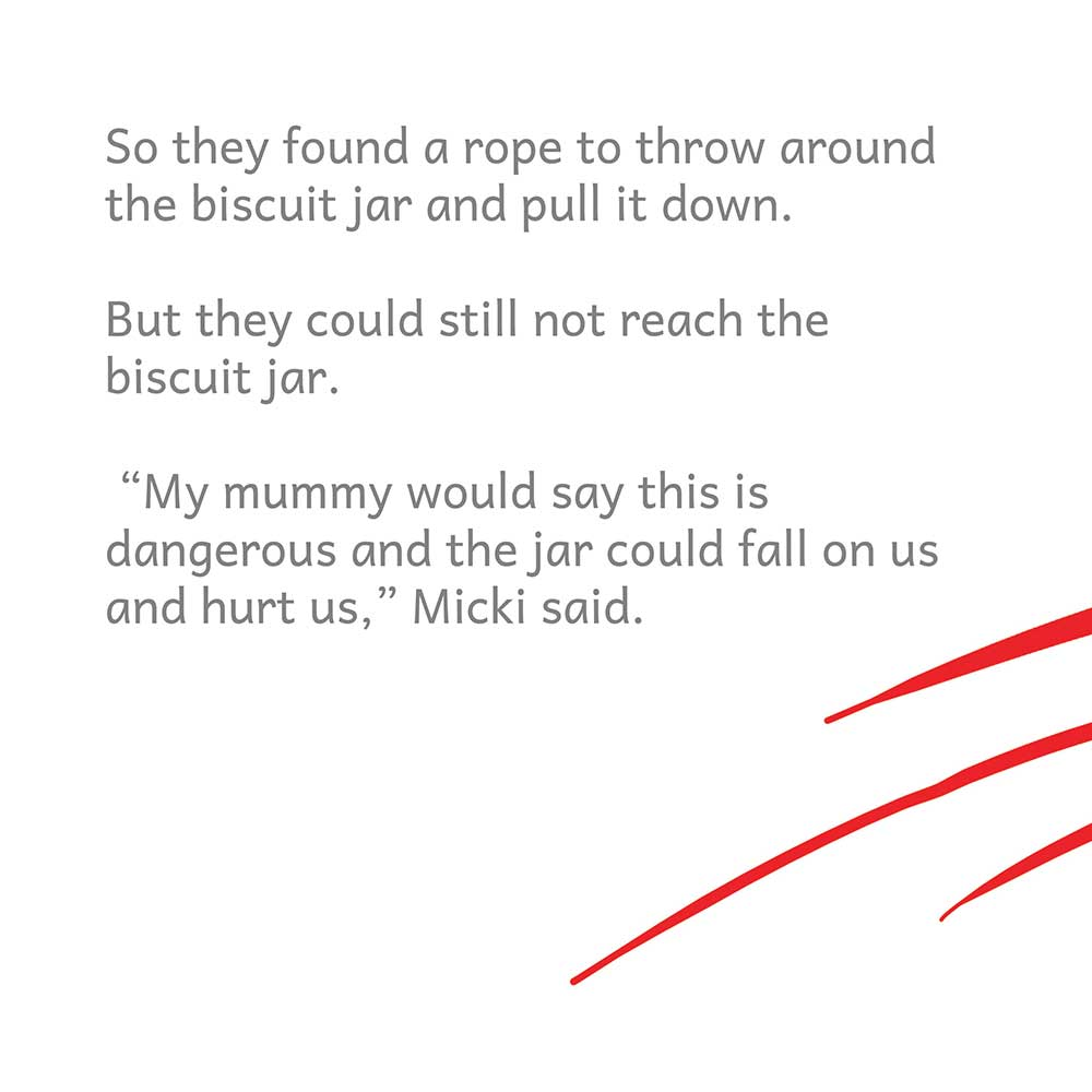 Free Bedtime Story - The Biscuit Jar Must Fall - page 16 illustration