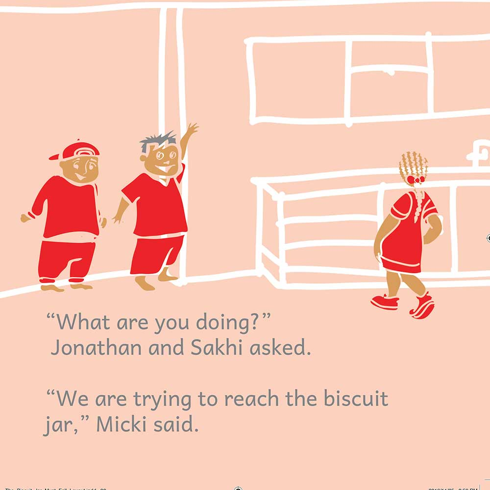 Free Bedtime Story - The Biscuit Jar Must Fall - page 18 illustration