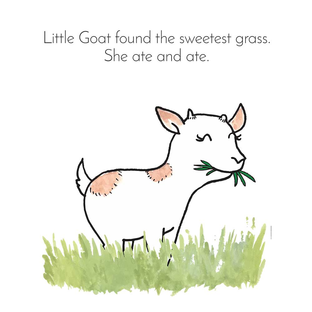 Free Bedtime Stories - Little Goat - page 12 illustration