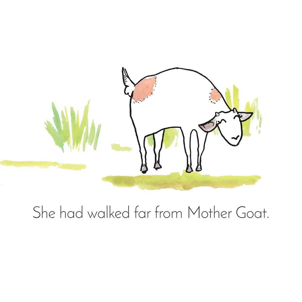 Free Bedtime Stories - Little Goat - page 13 illustration