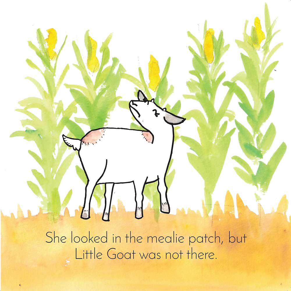 Free Bedtime Stories - Little Goat - page 15 illustration